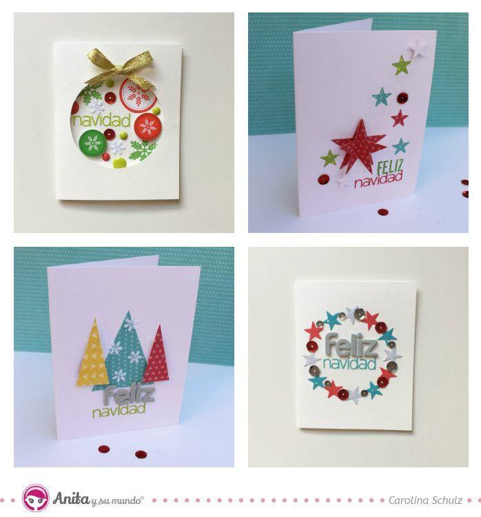 Postales de navidad originales anitaysumundo tarjetas - Targetas de navidad originales ...