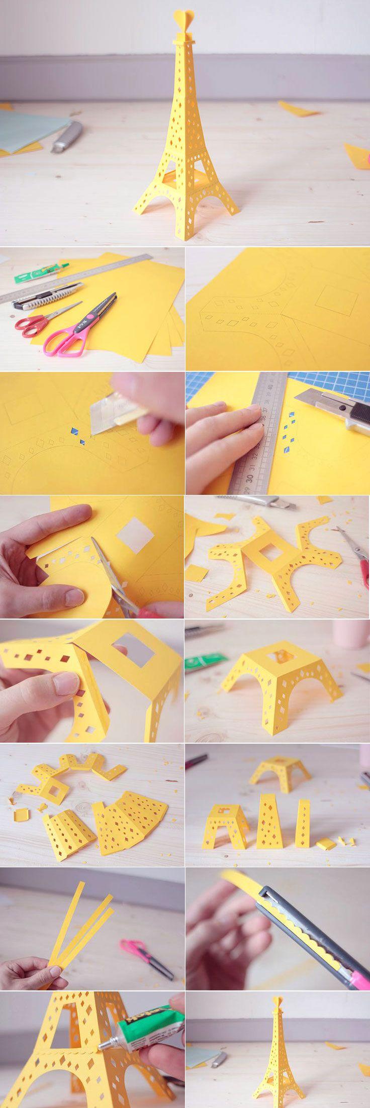 Scrapbook paper eiffel tower - Lorenzo P Pour Make My Lemonade Http Makemylemonade Com The Eiffel Tower