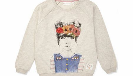 Bhs Girls Sweatshirt, biscuit 1065483527 This older girls long sleeved sweatshirt has a rounded neck and girl graphic front print, featuring flower headband with chiffon flower detail.Machine Washable80% Cotton, 20% Polyester http://www.comparestoreprices.co.uk/mens-clothing-accessories/bhs-girls-sweatshirt-biscuit-1065483527.asp