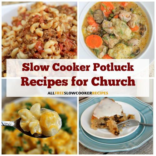45+ Slow Cooker Church Potluck Recipes images