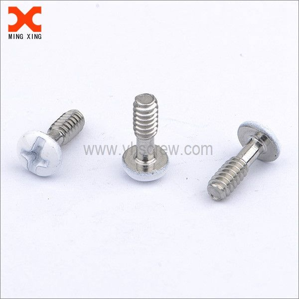 White Painted Phillips Round Head A4 Stainless Steel Screws Stainless Steel Screws White Paints Screws