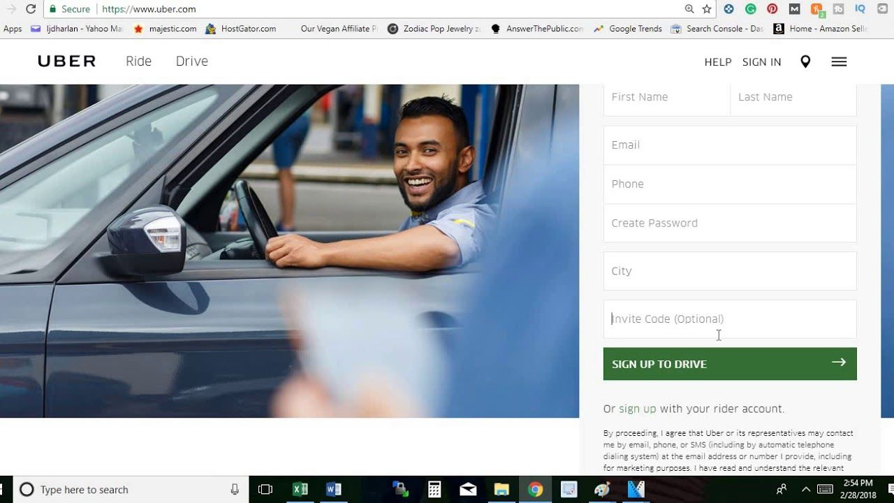 Uber DriverHow to Apply for Uber and Get Your Signup