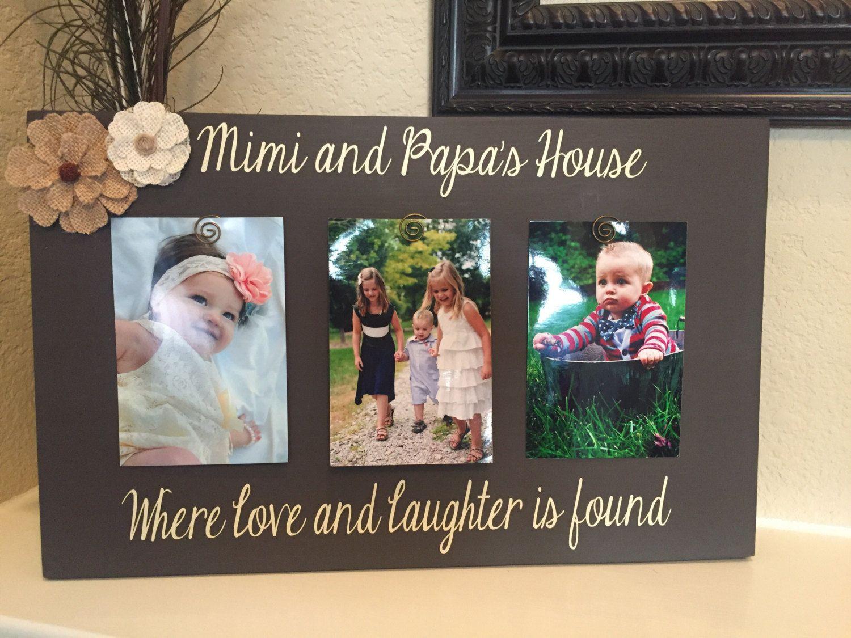 Grandma Frame Mom Wood Photo Frame Personalized Grandma Photo Personalized Mom Gift Custom Mom Frame