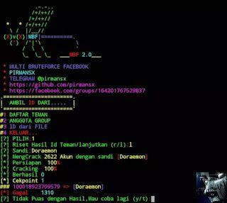 work Hack Facebook dengan Tool MBF Termux | Tips Trick in 2019