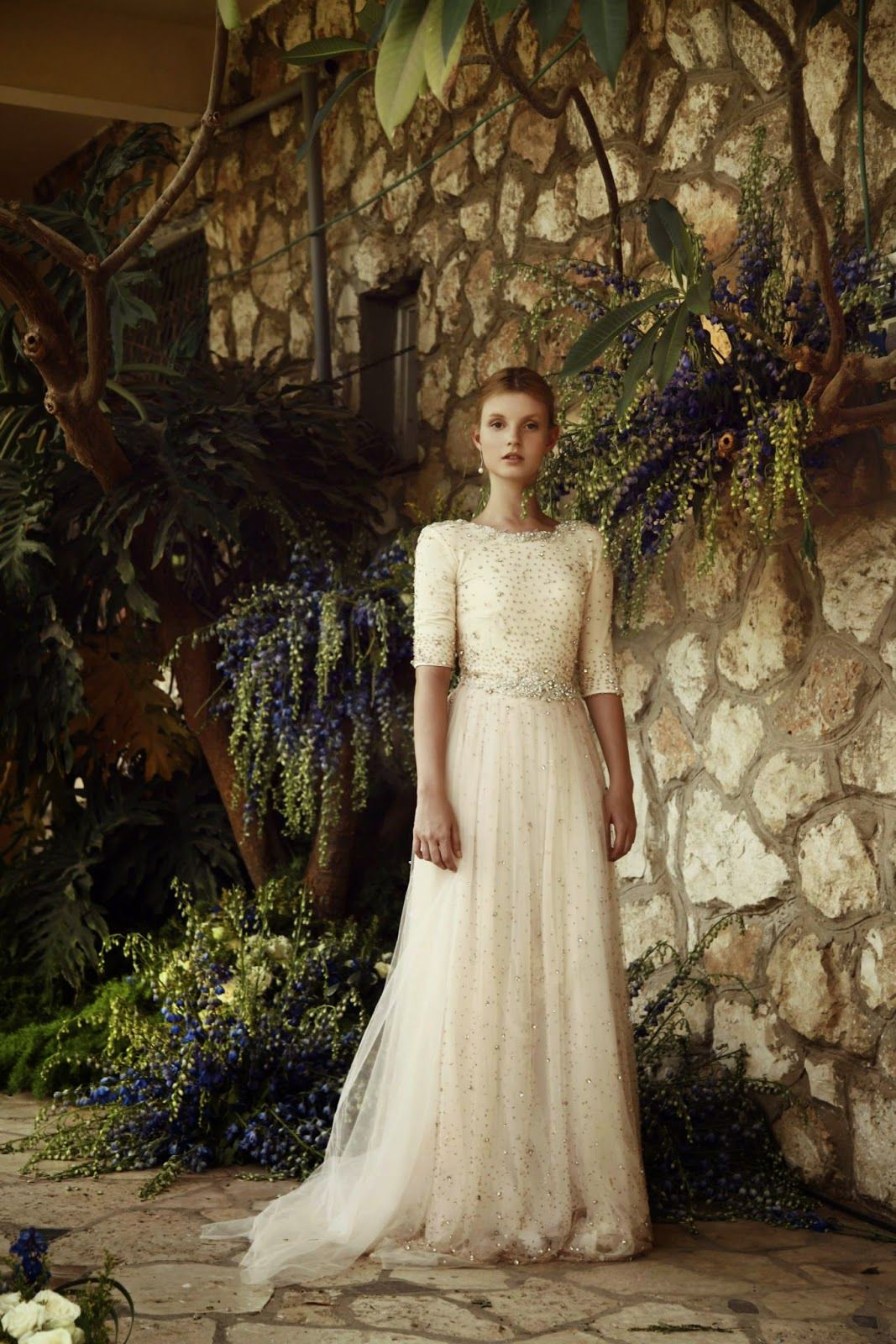 Designer Spotlight: Marelus Evening Wear   Modest clothing, Wedding ...