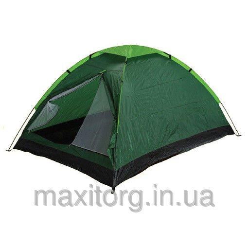 Палатка туристическая ftd-1101 двухместная