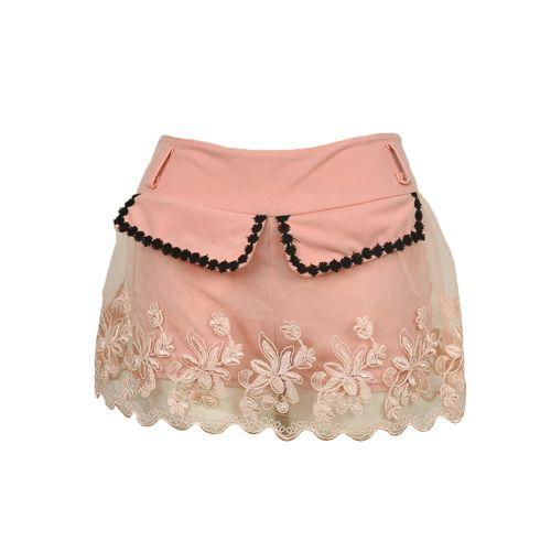 women shorts femininos 2014 summer female shorts bermudas short saia embroidery flowers sweat womens shorts plus size 5CWK002