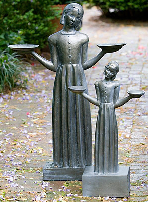 the celebrated bird girl statue gained notoriety by its prominence in the best selling novel and film midnight in the garden of good and evil - Midnight In The Garden Of Good And Evil Statue
