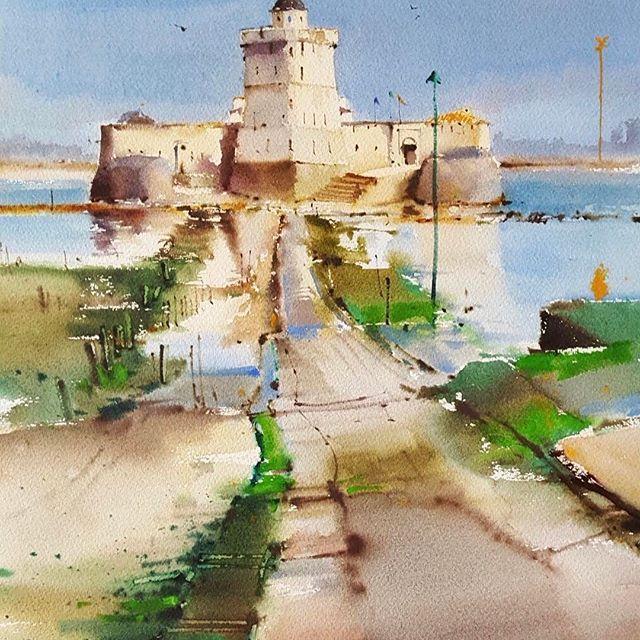 Les rencontres d'aquarelle de la Presqu'île d'Arvert