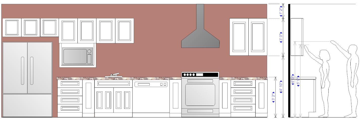 Kitchen Design Example - Cabinets | Kitchen | Kitchen design