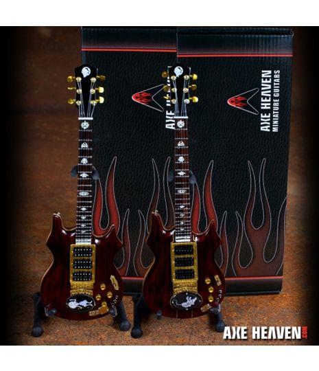 "Jerry Garcia Grateful Dead ""Tiger"" Tribute Miniature Guitar"