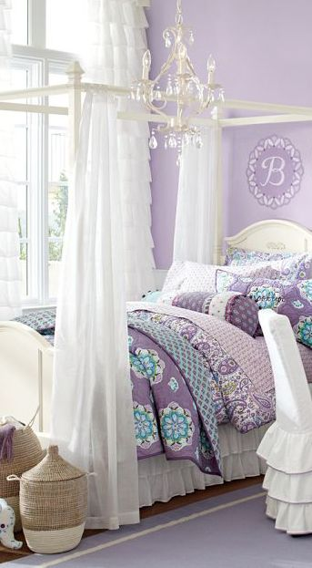 Brooklyn Quilt In Purple  So Cute For A Girls Room!