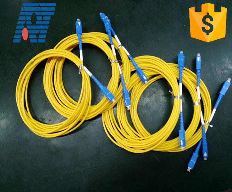 Optical fiber cable SC FC ST apc upc single mode fiber optic patch ...