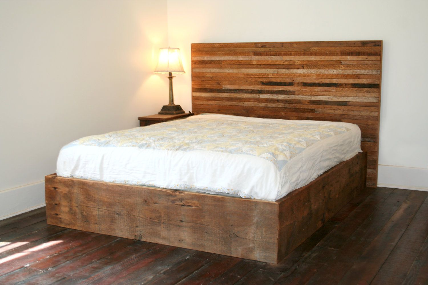Popular Items For Reclaimed Wood Bed On Etsy