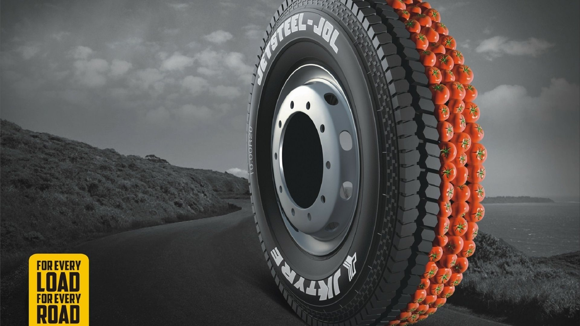 1920x1080 Tyres Tomattos Jk Tyres Wallpapers And Pictures Creative Advertising Campaign Creative Advertising Advertising