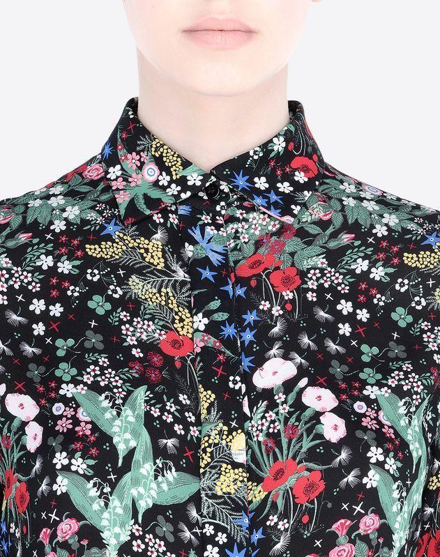 Modern Colorist Valentino Midnight Garden Shirt In
