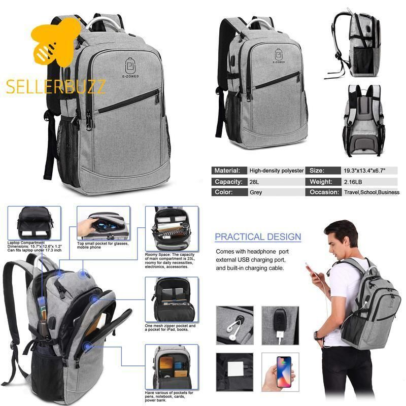 Business Laptop Backpack 17 Inch Laptop Backpack Computer Bag For Women Men  La  fashion  clothing  shoes  accessories  mensaccessories  bags (ebay link) 9819e50e697e5