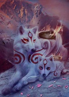 Anime Wolves Fantasy Fantasy Wolves Spirit Animal Anime Wolves