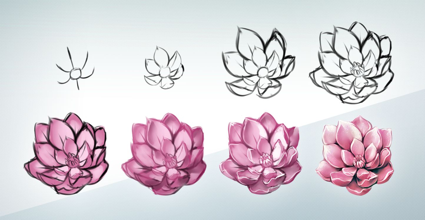 Flower Steps by on DeviantArt