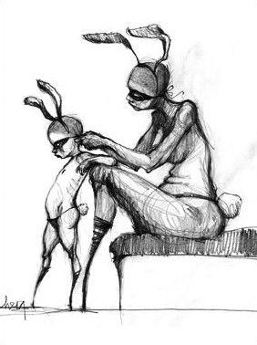 Herakut Sketch