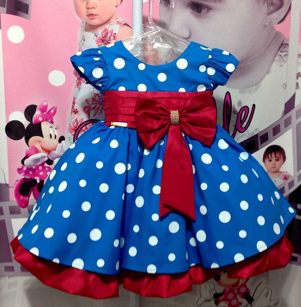 2bde3703549bf6 vestido galinha pintadina, vestido infantil, vestido azul da galinha ...