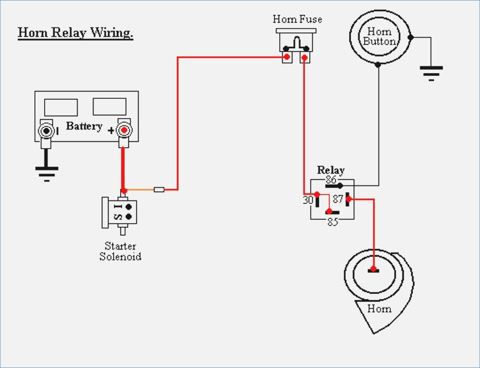 Relay Wiring Diagram 4 Pin : Diagram Wiring Diagram For 4
