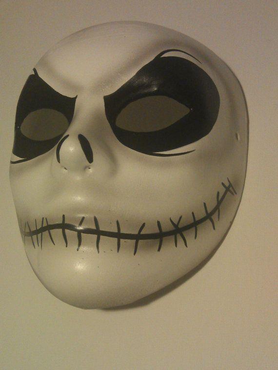 Jack Skellington Mask Nightmare Before Christmas Halloween Costume Accessory
