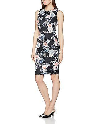Womens Floral Scuba Party Dress Dorothy Perkins