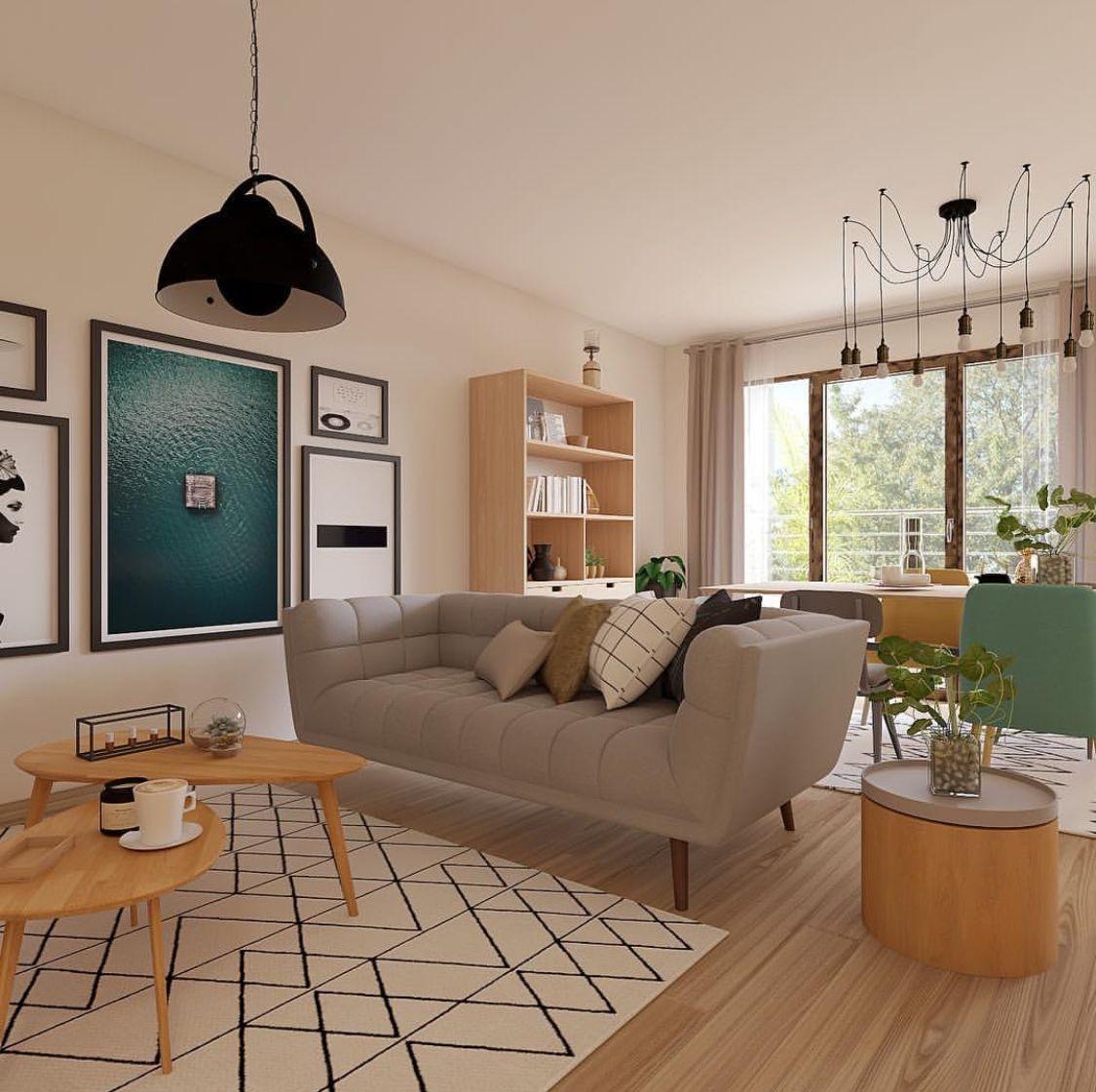 Scandinavian Designinterior Plant: Pin By Natasya On Scandinavian , Simple And Small Space