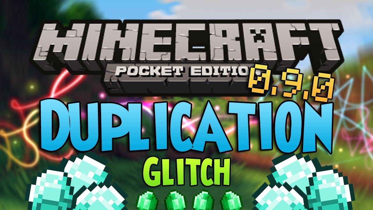 New Duplication Glitch Minecraft Pocket Edition 0 9 0
