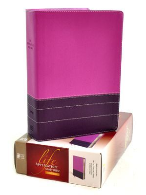NIV Life Application Study Bible, Large Print, Italian Duo