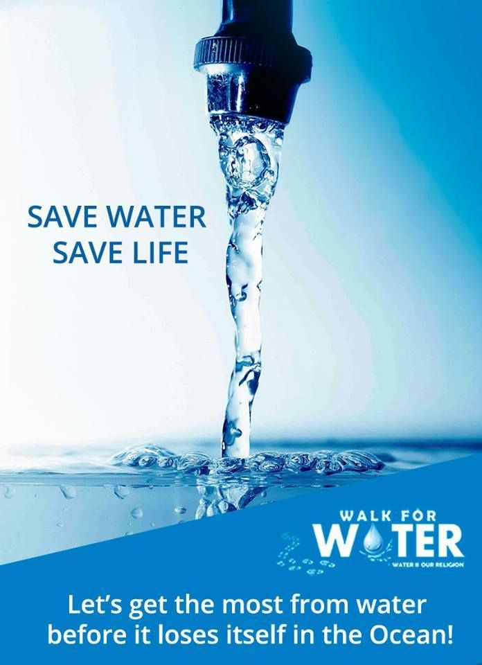walk for water is a social awareness campaign to save