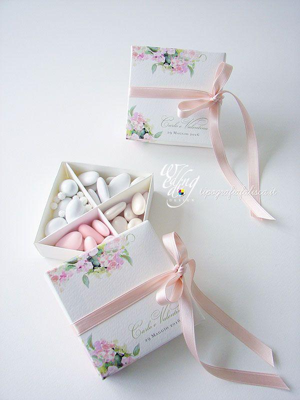 Scatola Degustazione Confetti Scatoline Per Bomboniere Idee Per Anniversario Riso Per Matrimonio