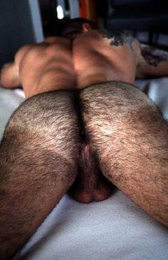 Nude hairy ass — img 2