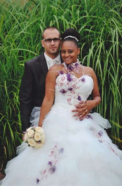 Robe mariage reunion 974