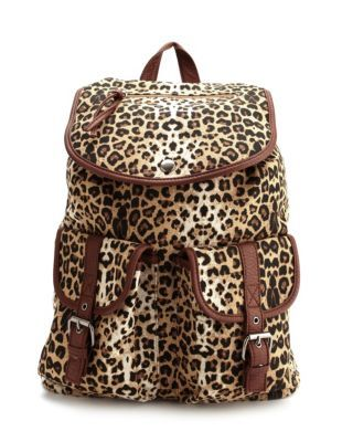 b5d9eddabd51 ... inexpensive leopard print canvas backpack this is cute michael kors  rhea black medium slim fashion 849af
