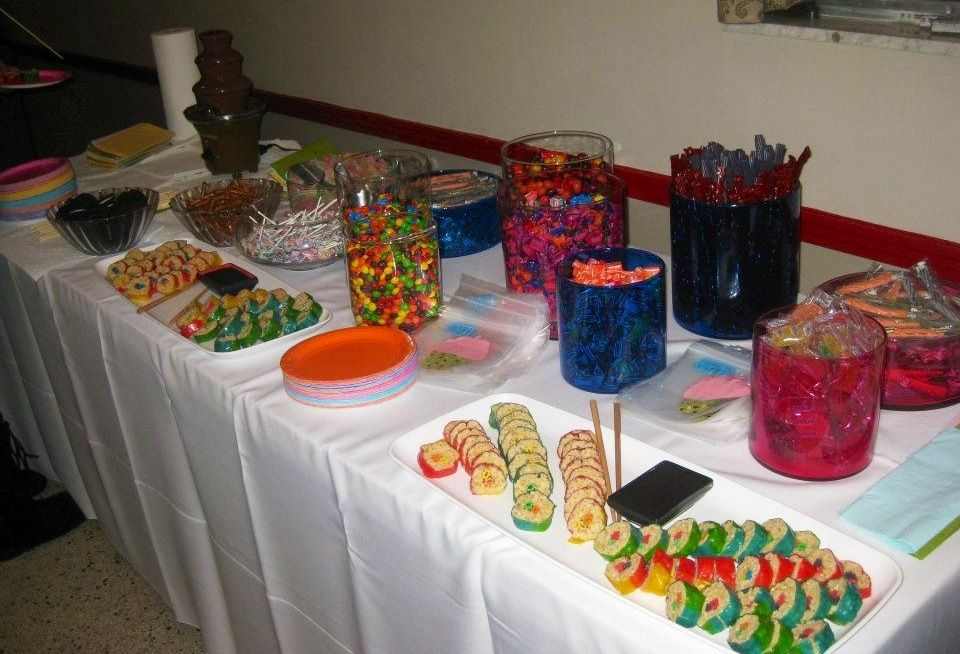 Candyland birthday sweet 16 by me sweet 16 candy buffet