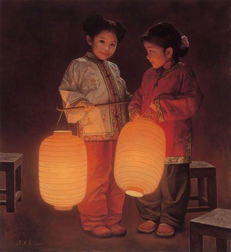 Zhu Yiyong ~~ Chingquin - Sichuan - China 1957