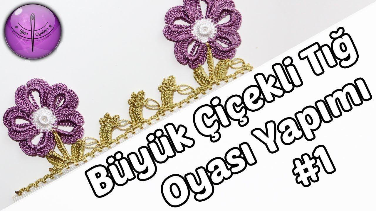 Big Flower Crochet Pattern Design # 1 HD Quality - YouTube | El işi ...
