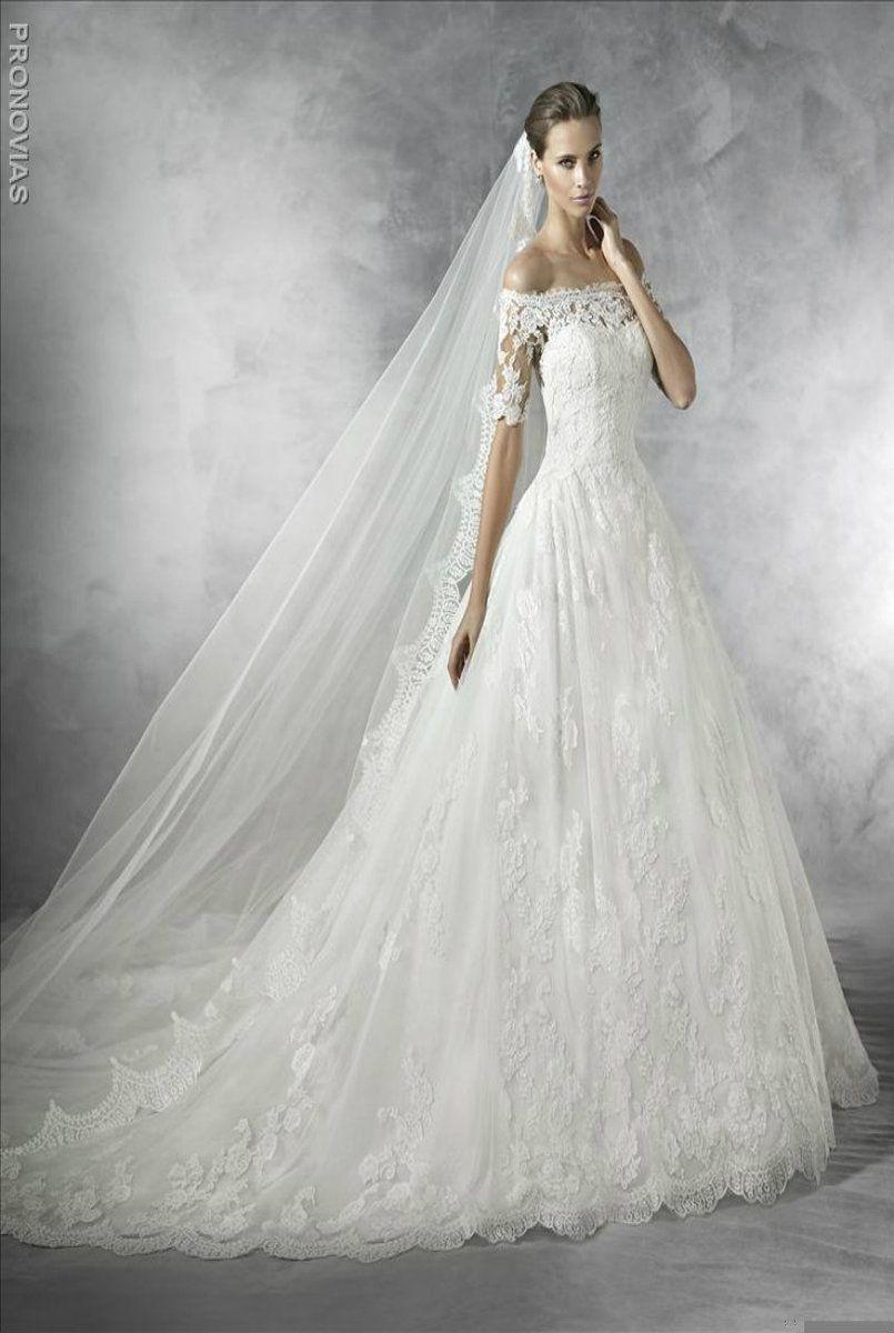 Best wedding dress for size 20  Pronovias Wedding Dress Pleasant in   Wedding  Basic wedding