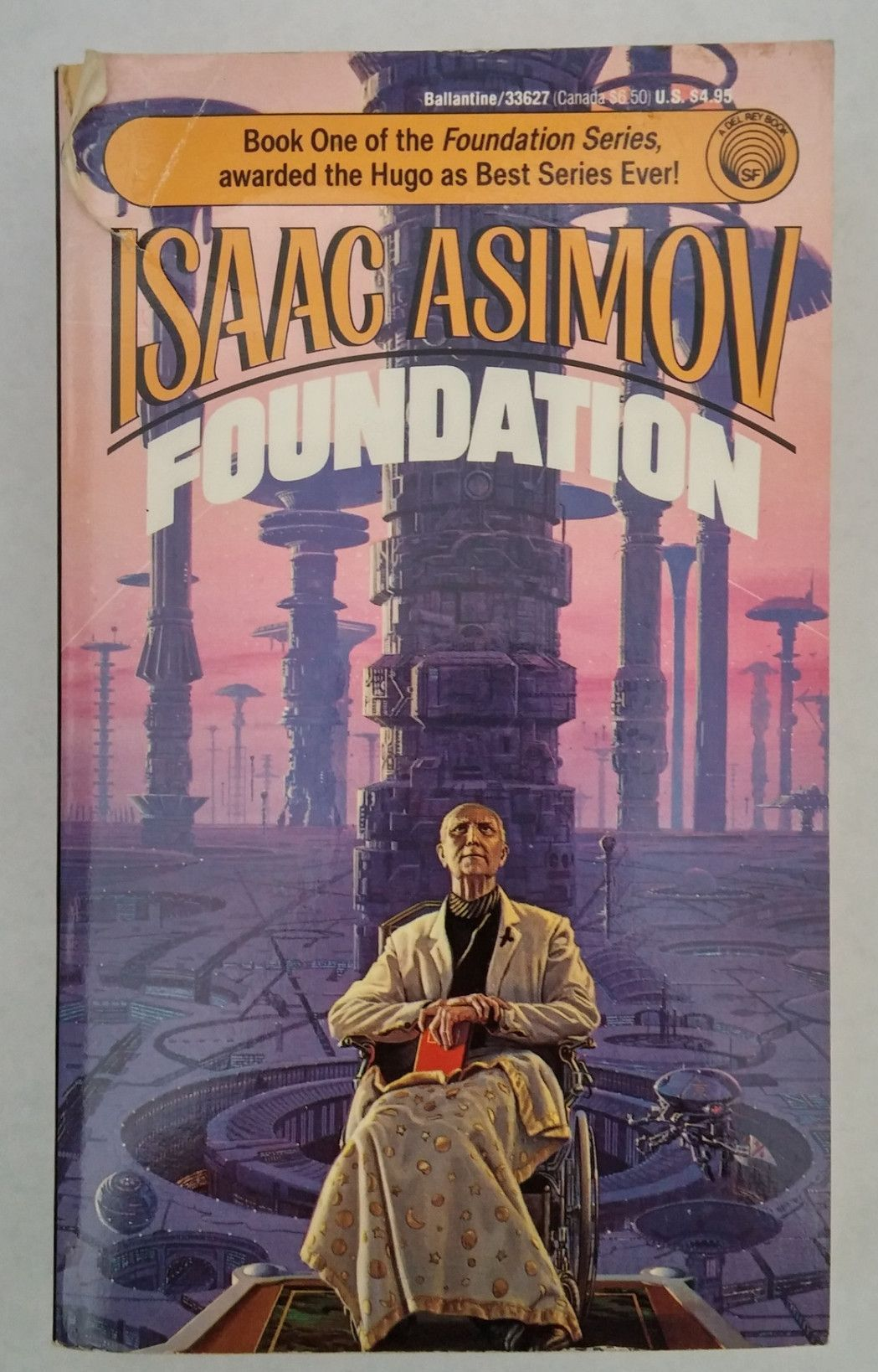 Foundation -- Isaac Asimov | Science fiction books, Science ...