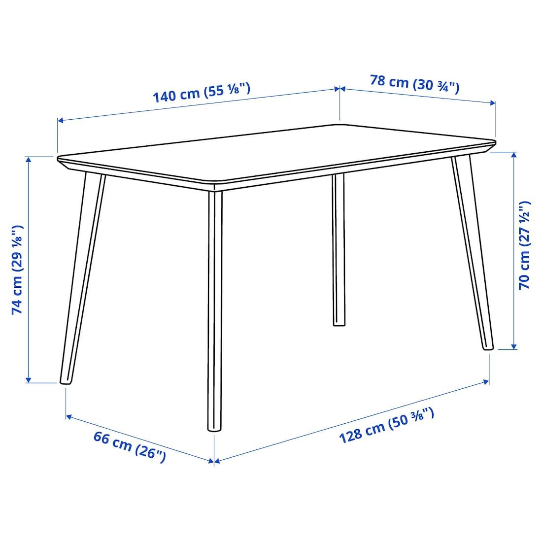 Lisabo Table Ash Veneer Ikea Ikea Wood Slats Cleaning Clothes [ 1100 x 1100 Pixel ]