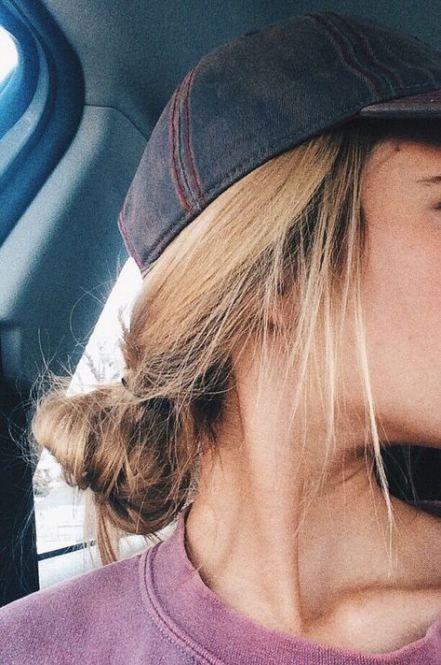 Hat hairstyles baseball summer 19+ Ideas