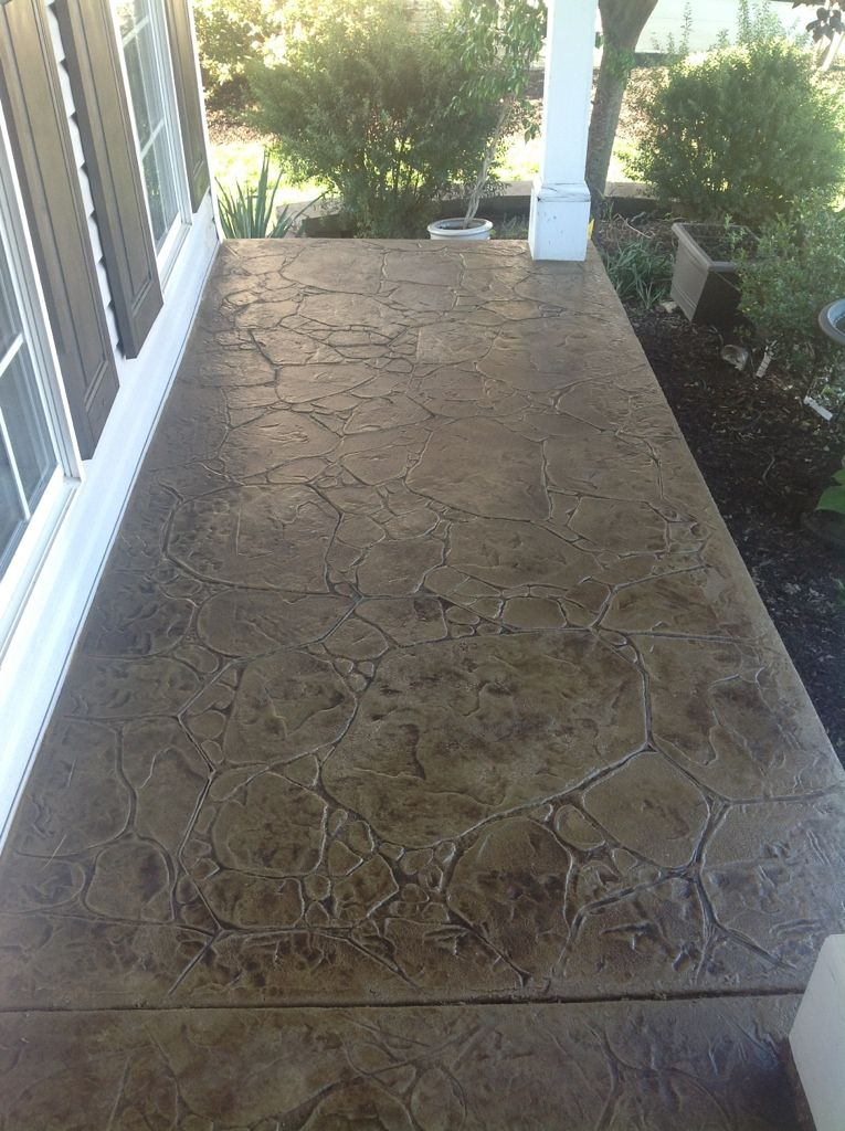 Concrete Overlay Ideas Porch Remodel Patio Makeover Porch Makeover