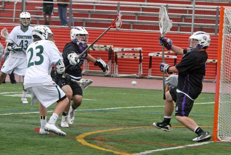 Section 1 boys lacrosse: Yorktown cruises to another Class B title