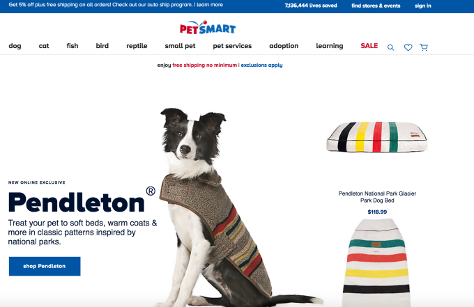 Petsmart Takes On Amazon With Launch Of Same Day Delivery And Subscriptions