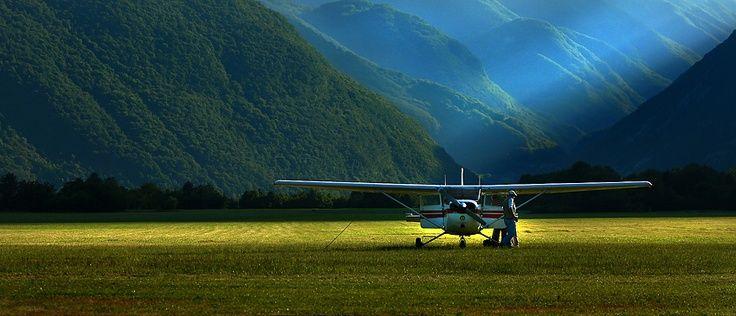Beautiful place to land...