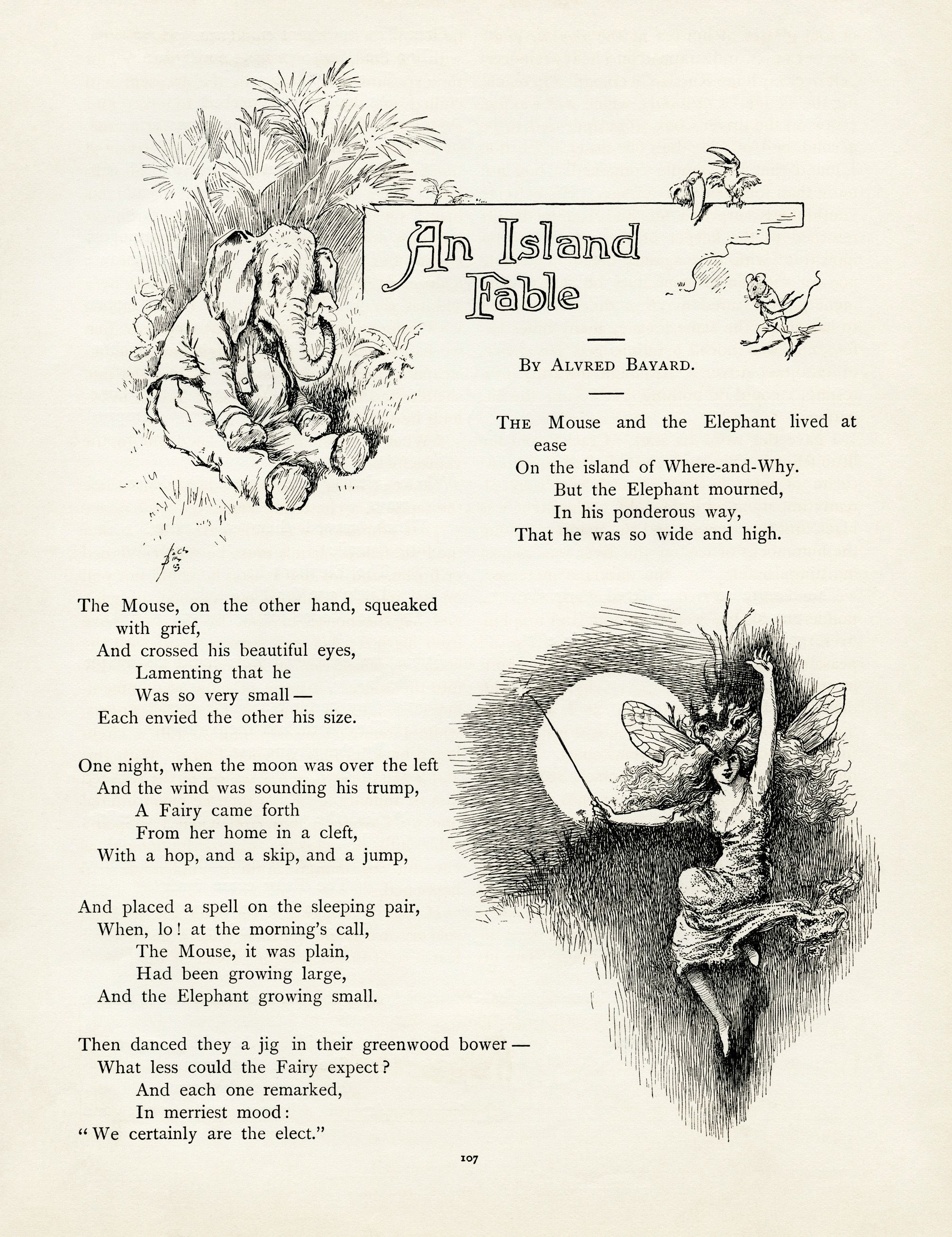 Old Design Shop Free Digital Images Three Vintage Storybook Pages An Island Fable