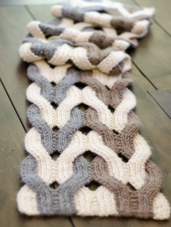 Japanese Weave Wrap PDF Knitting Pattern Instant Download (ENGLISH ...