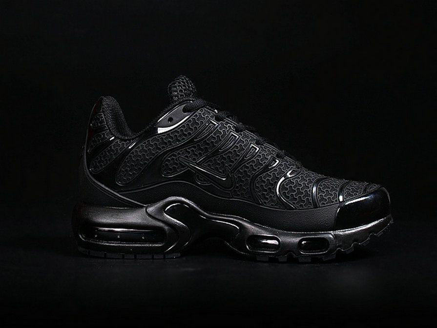 official photos 73447 f0942 Men Nike Air Max Plus Tn Ultra Triple Black Shoe | Footwear ...